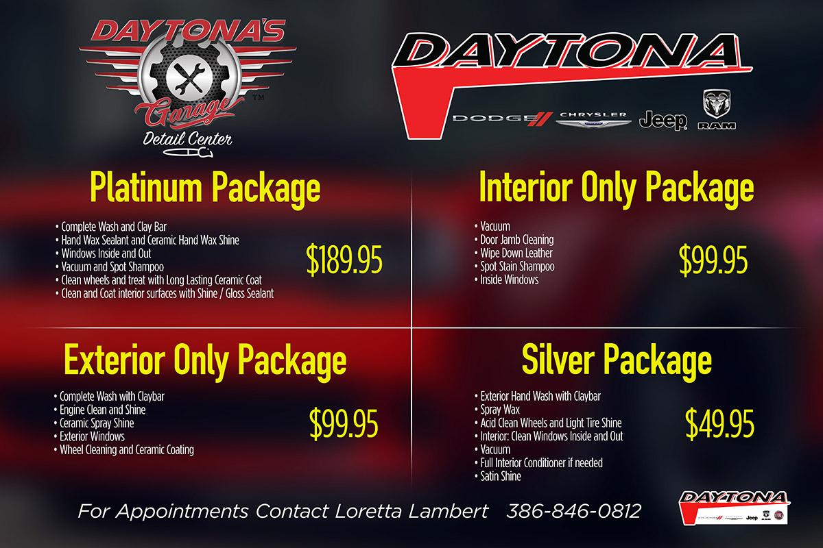Daytona Detail Center