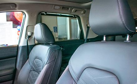 2022 Nissan Pathfinder seating