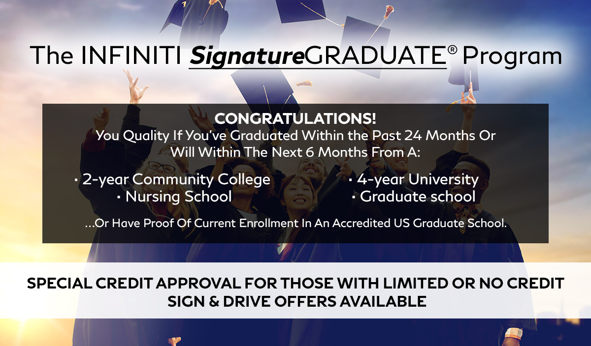 The INFINITI SignatureGRADUATE Program