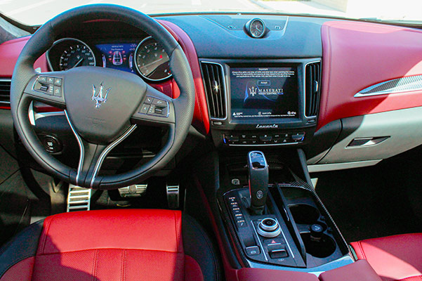 2021 Maserati Levante Interior & Safety Features
