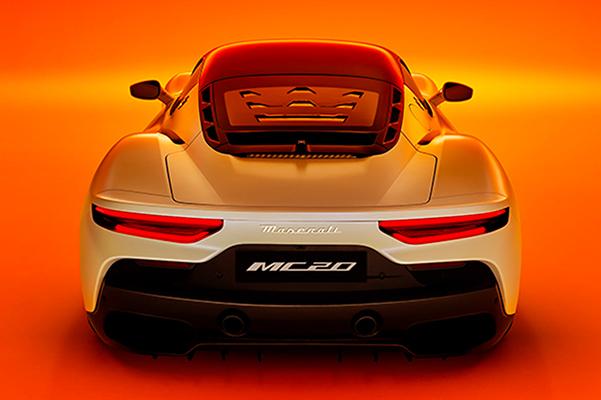 MC20 rear view