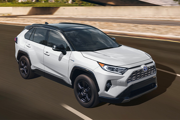 2020 RAV4 XSE shown in Blizzard Pearl