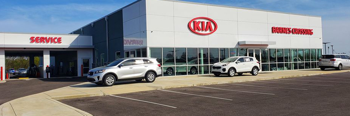 Barnes Crossing Kia