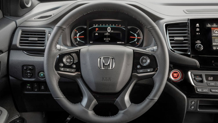 Honda vehicle dashboard