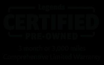 Legends Honda Certified Pre-Owned Logo