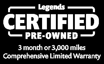 Legends Certified Pre-Owned Logo