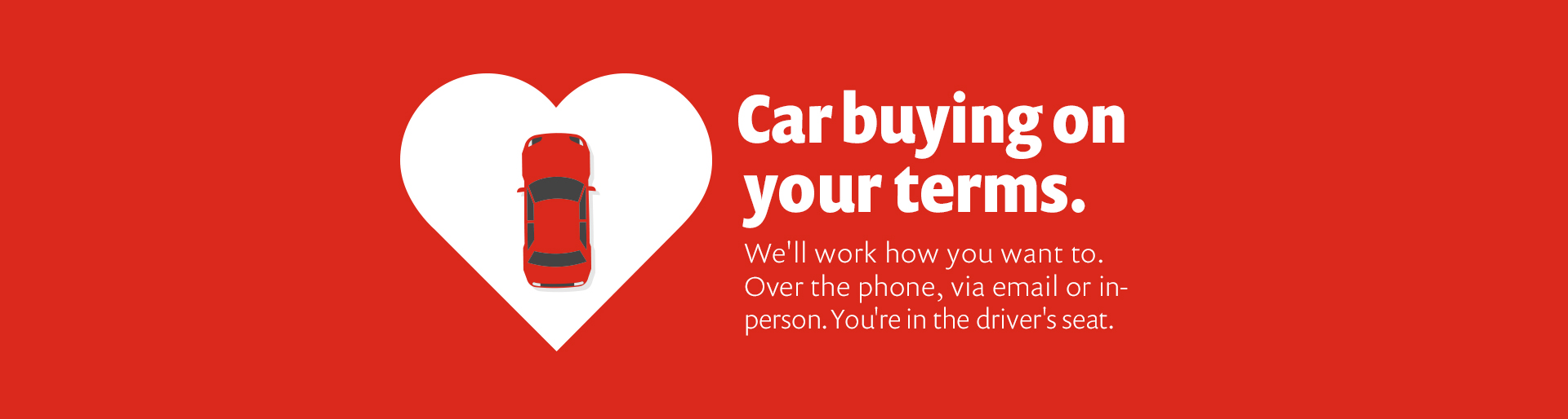 Car Buying on Your Terms