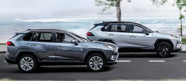 2021 Toyota RAV4 Hybrid Electronic On-Demand AWD