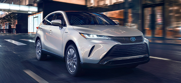 2021 Toyota Venza Limited shown in Blizzard Pearl
