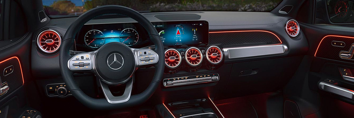 2020 Mercedes-Benz GLB Interior & Technology