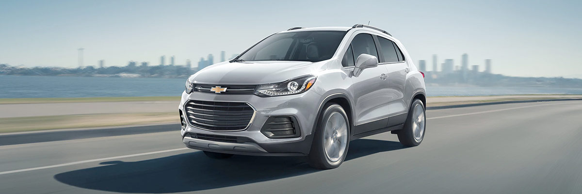 2021 Chevy Trax on the road