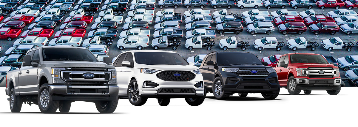 Ford Vehicle lineup header