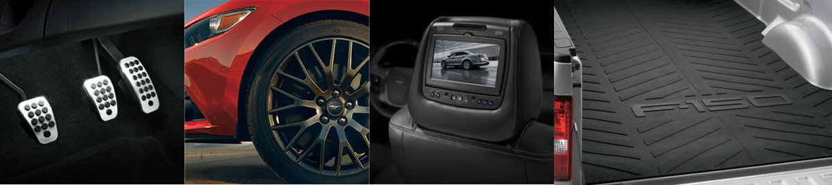 image of multiple ford accessories for your vehicle