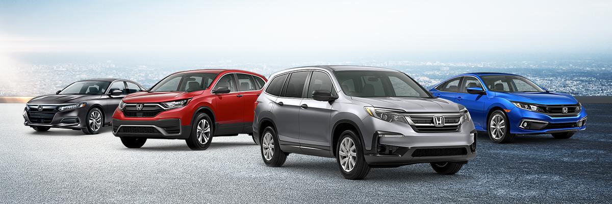 Honda vehicle lineup