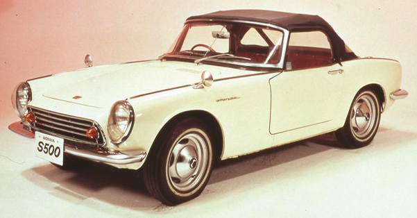 first Honda vehicles