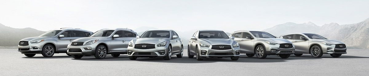 INFINITI multi vehicle line up