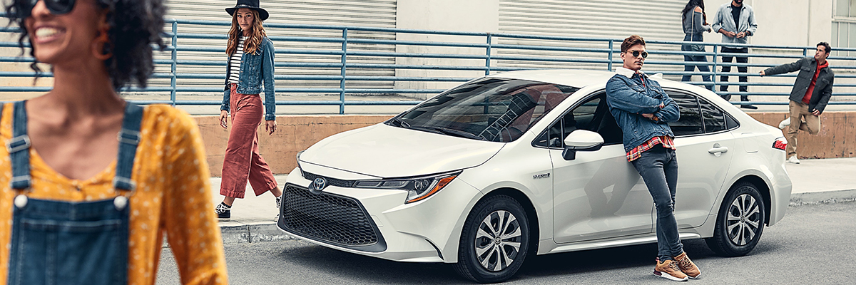 2020 Toyota Corolla parked on a street