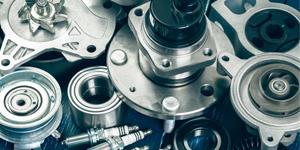 close up or car parts