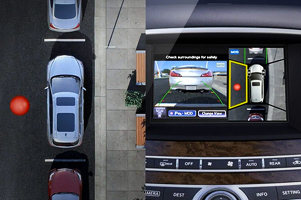 How Does INFINITI Around View® Monitor Work?
