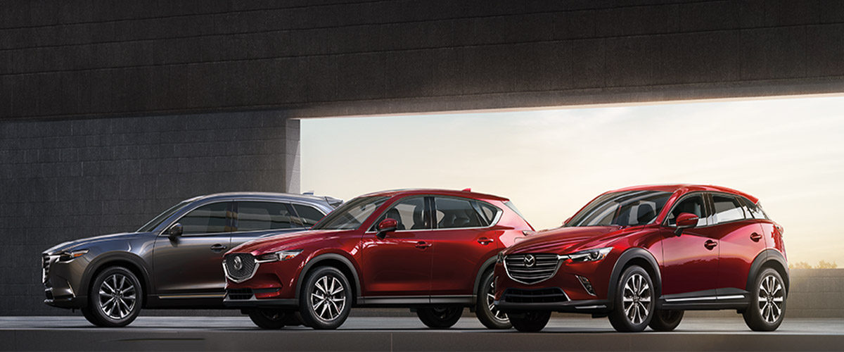 Buy or Lease a New Mazda SUV in Orlando, FL Header
