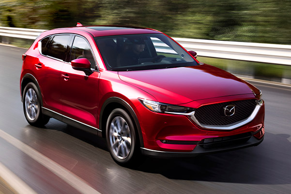 2021 Mazda CX-5 Driving high speed