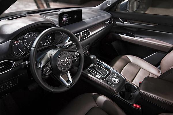 2021 Mazda CX-5 Crossover SUV Interior – Driver's View