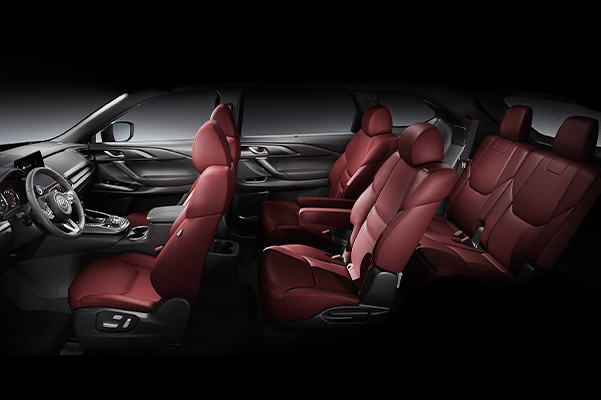 2021 CX-9 Carbon Edition interior