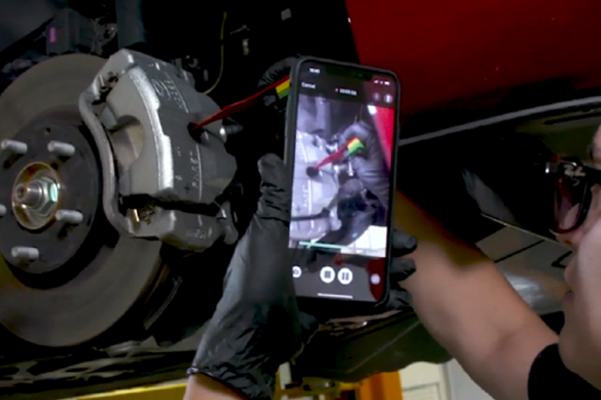video inspection that shows you exactly where a service or repair is needed
