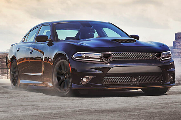 2020 Dodge Charger in motion